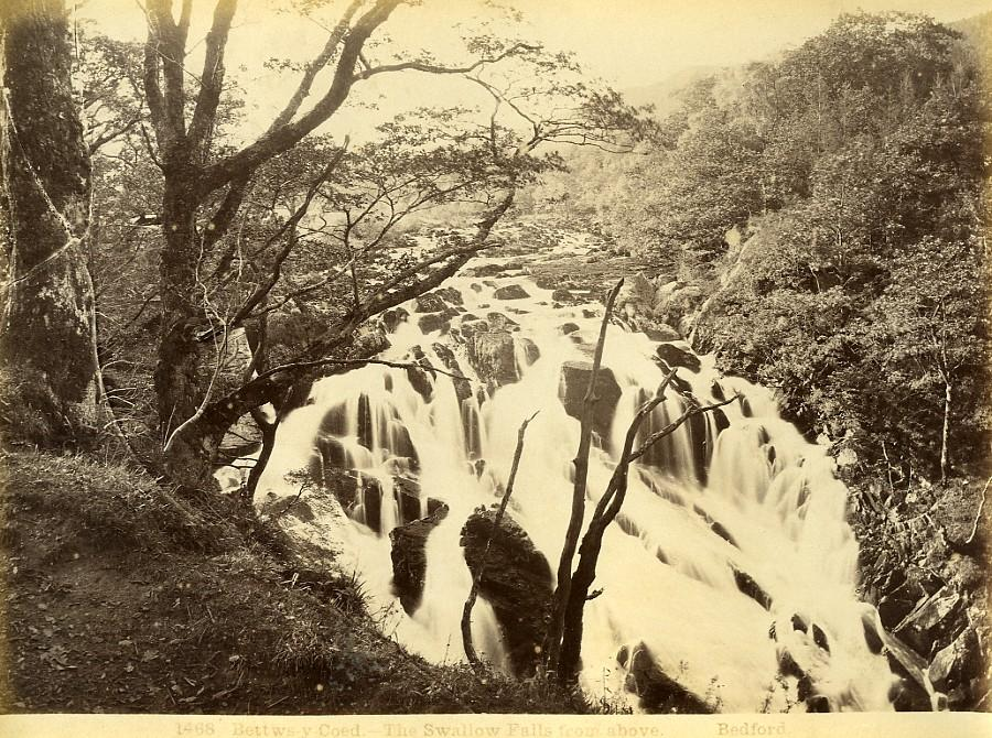 Wales_Betws_y_Coed_Swallow_Falls_Waterfall_Old_Photo_Bedford_circa_1870_Francis_BEDFORD_[_]