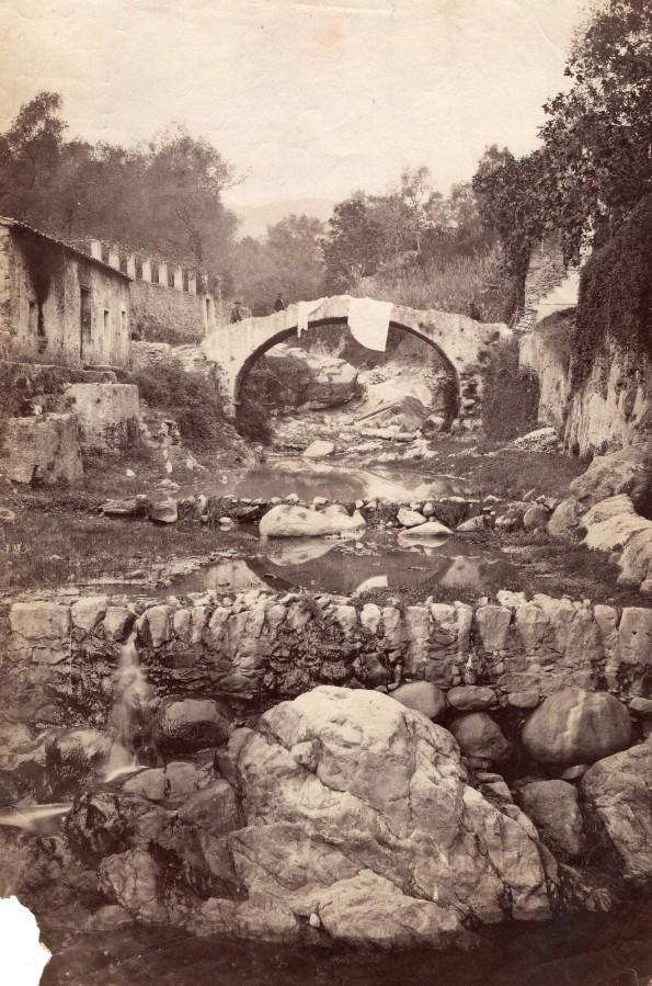 Italy_Sanremo_Old_Town_Dry_River_bed_stream_old_Jean_Gilletta_Photo_1880'_Jean_GILLETTA_[_]