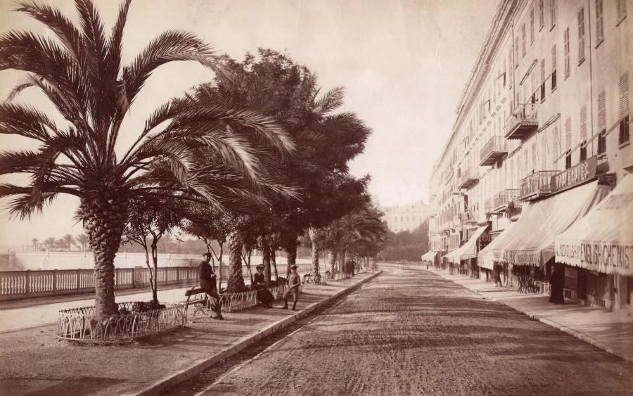 French_Riviera_Nice_Quai_Massena_Animated_old_Jean_Gilletta_Photo_1880_Jean_GILLETTA__