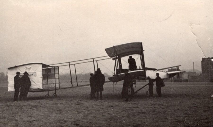 France_Aviation_Henry_Farman_No1_Biplane_Airplane_old_Photo_1907_ANONYMOUS__