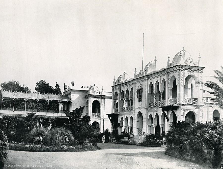 Algeria_Algiers_Governors_Summer_Palace_Old_Photo_Leroux_1900_A_LEROUX__