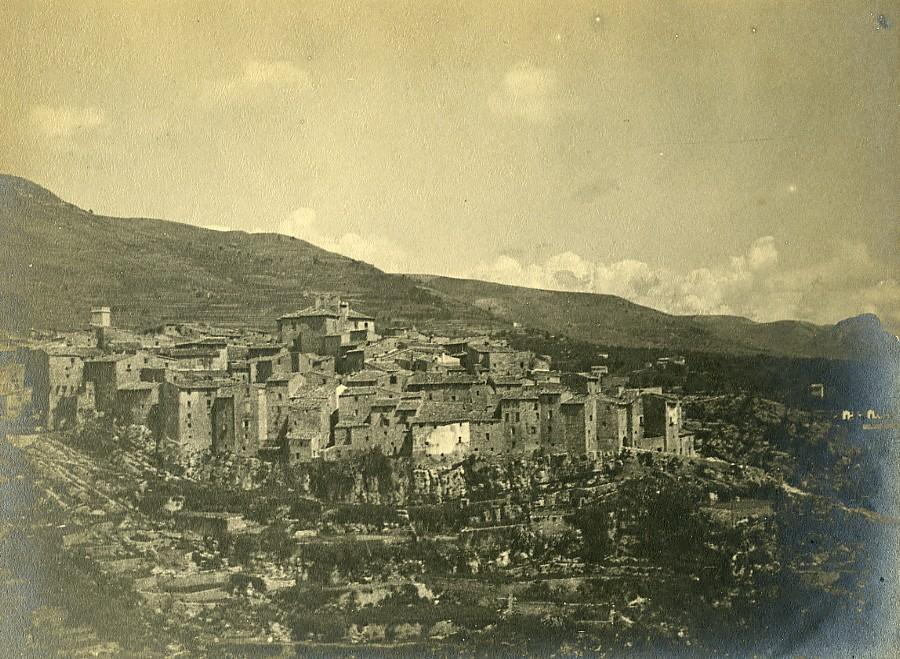 France_Alpes_Maritimes_Medieval_Village_around_Nice_Old_Pictorialist_Photo_c1900_ANONYMOUS__