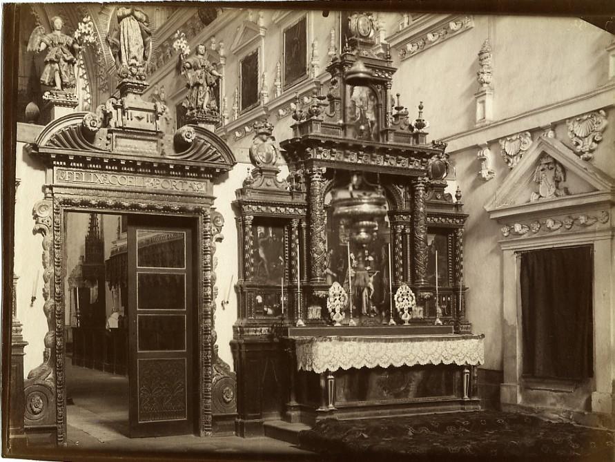Spain_Burgos_Cartuja_de_Miraflores_Charterhouse_interior_Old_Photo_1880_ANONYMOUS__