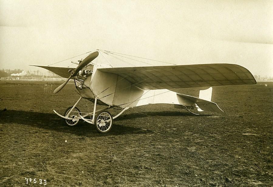France_Ladougnes_La_Colombe_Dove_Monoplane_Aviation_Old_Photo_1912_ANONYMOUS_Good