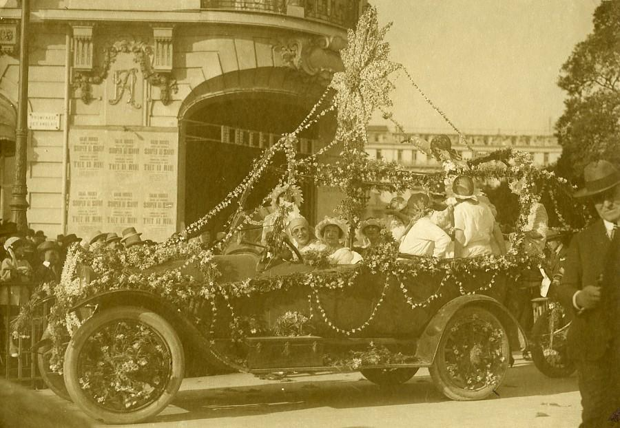 France_Nice_Carnival_Automobile_Flowers_Parade_Hotel_Ruhl_old_Photo_1925_ANONYMOUS__