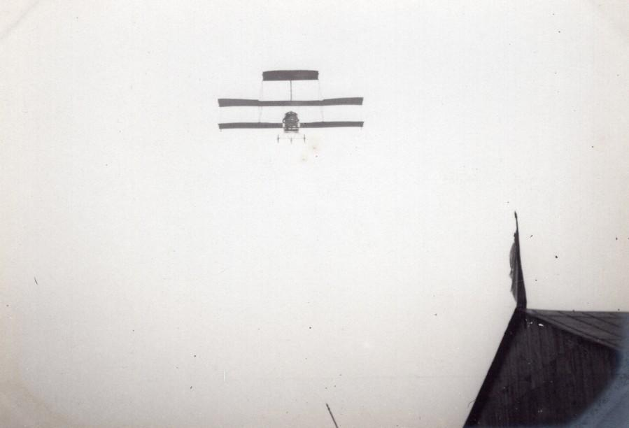 France_Aviation_Voisin_Biplane_in_Flight_old_Photo_circa_1910_ANONYMOUS__