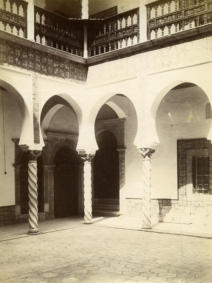 Algeria_Algiers_Archdiocese_Interior_Ketchaoua_Mosque_old_Photo_1880_Anonymous_[_]