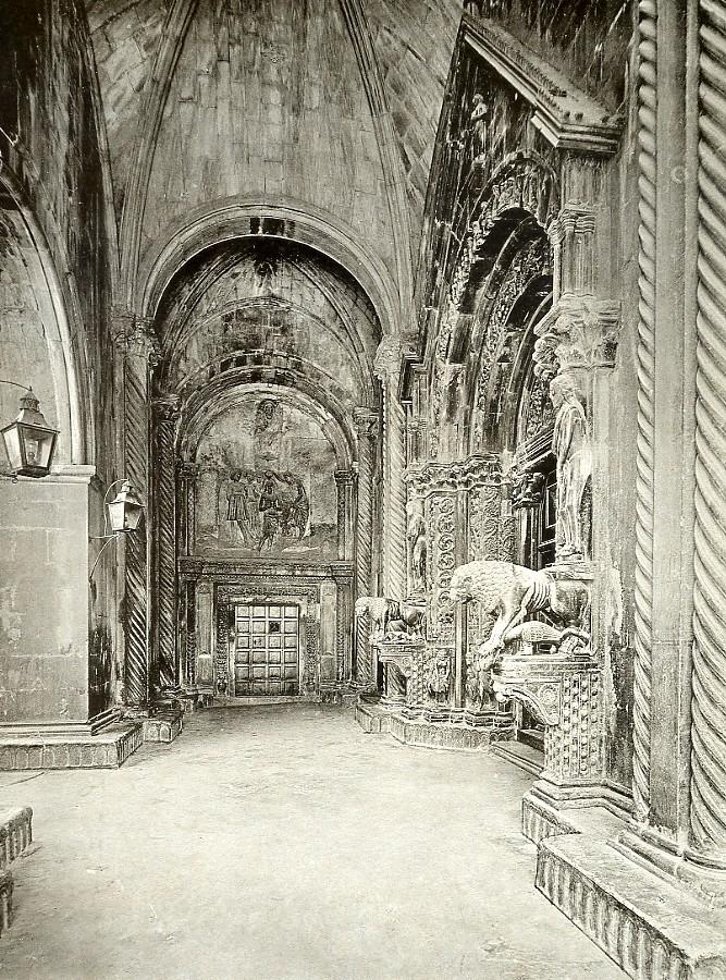 Croatia_Trogir_Cathedral_of_St_Lawrence_Sv_Lovre_old_photo_1900____