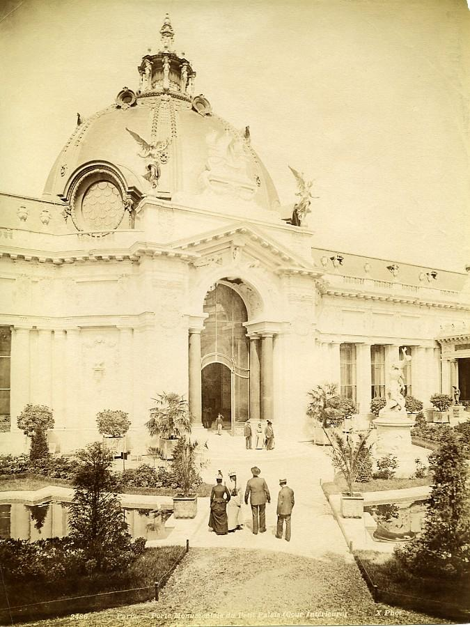 France_Paris_Petit_Palais_Monumental_Door_old_Photo_1900_X_Studio__