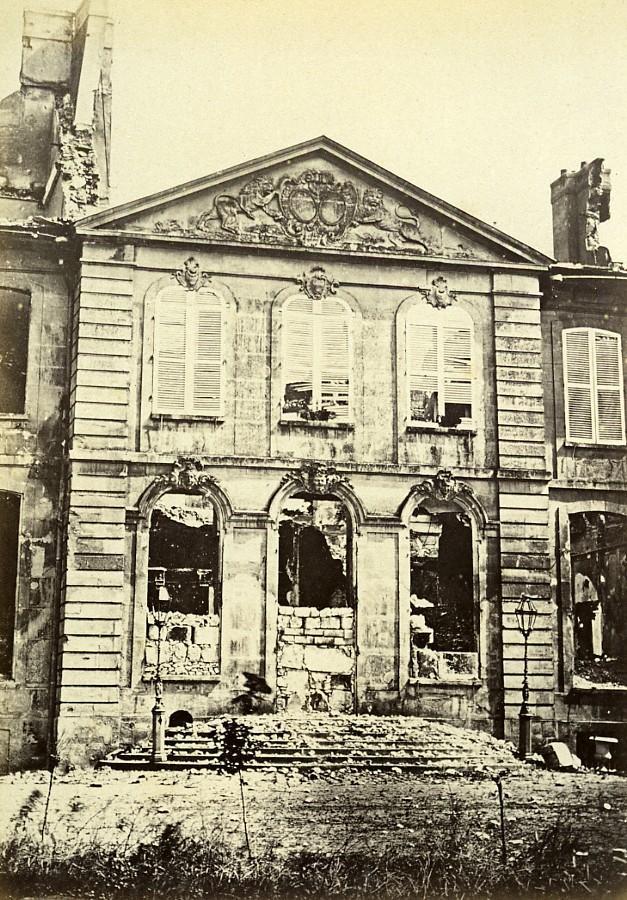 Siege_of_Paris_Commune_Ruins_Drancy_Ladoucette_Castle_Old_Liebert_Photo_1870_G_LIEBERT__