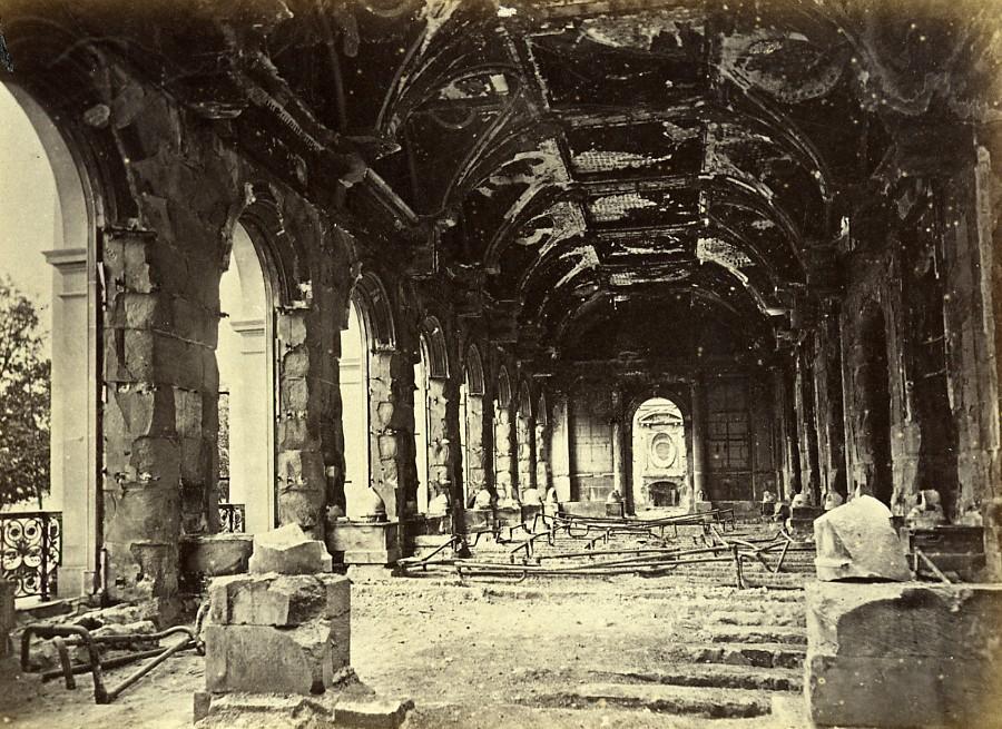 Siege_of_Paris_Commune_Ruins_Conseil_dEtat_Interior_Old_Liebert_Photo_1871_G_LIEBERT__