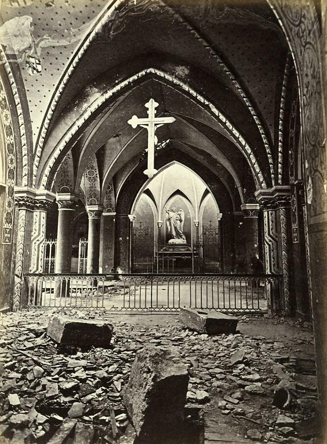 Siege_of_Paris_Commune_Ruins_Drancy_Church_Ladoucette_Old_Liebert_Photo_1870_G_LIEBERT__