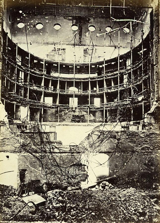 Siege_of_Paris_Commune_Ruins_Lyric_Theatre_Lyrique_Old_Liebert_Photo_1871_G_LIEBERT__
