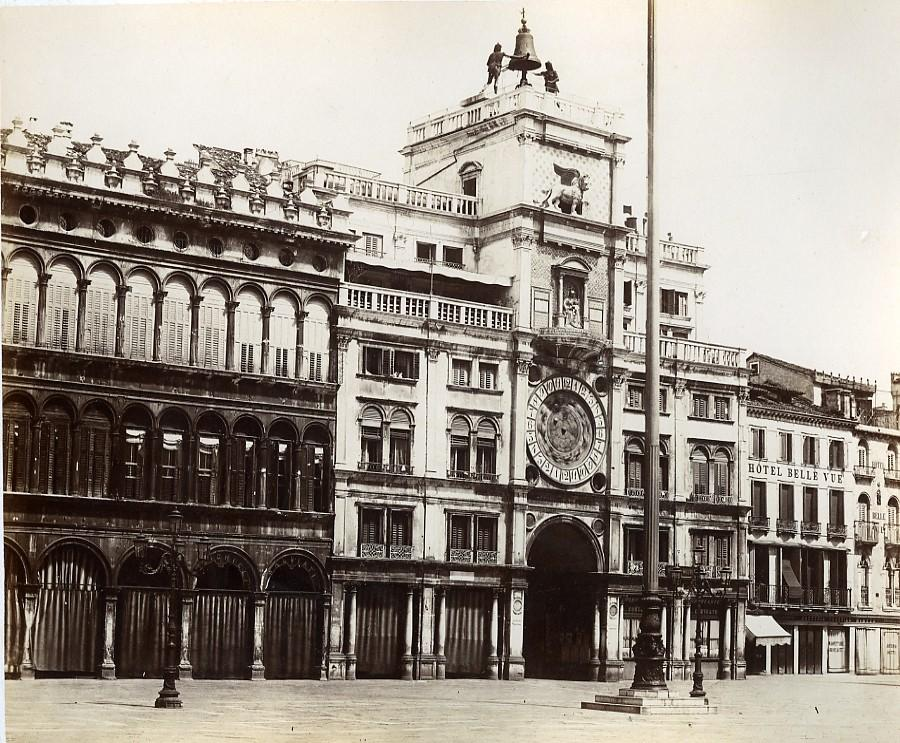 Italy_Venice_Venezia_Clock_Tower_old_Photo_Paolo_Salviati_1880_Paolo_Salviati__