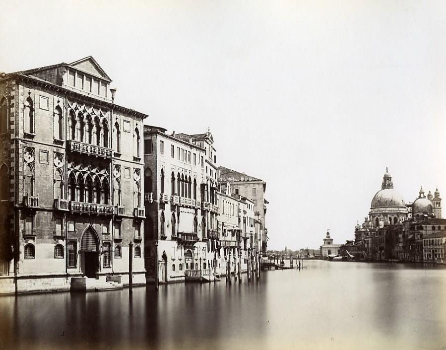 Italy_Venice_Venezia_Canale_Grande_old_Photo_Paolo_Salviati_1880_Paolo_Salviati__