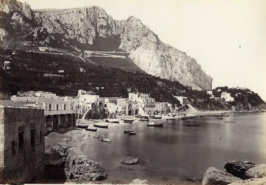 Italy_Naples_Napoli_Marina_di_Capri_old_Photo_Giorgio_Sommer_1870_Giorgio_Sommer__