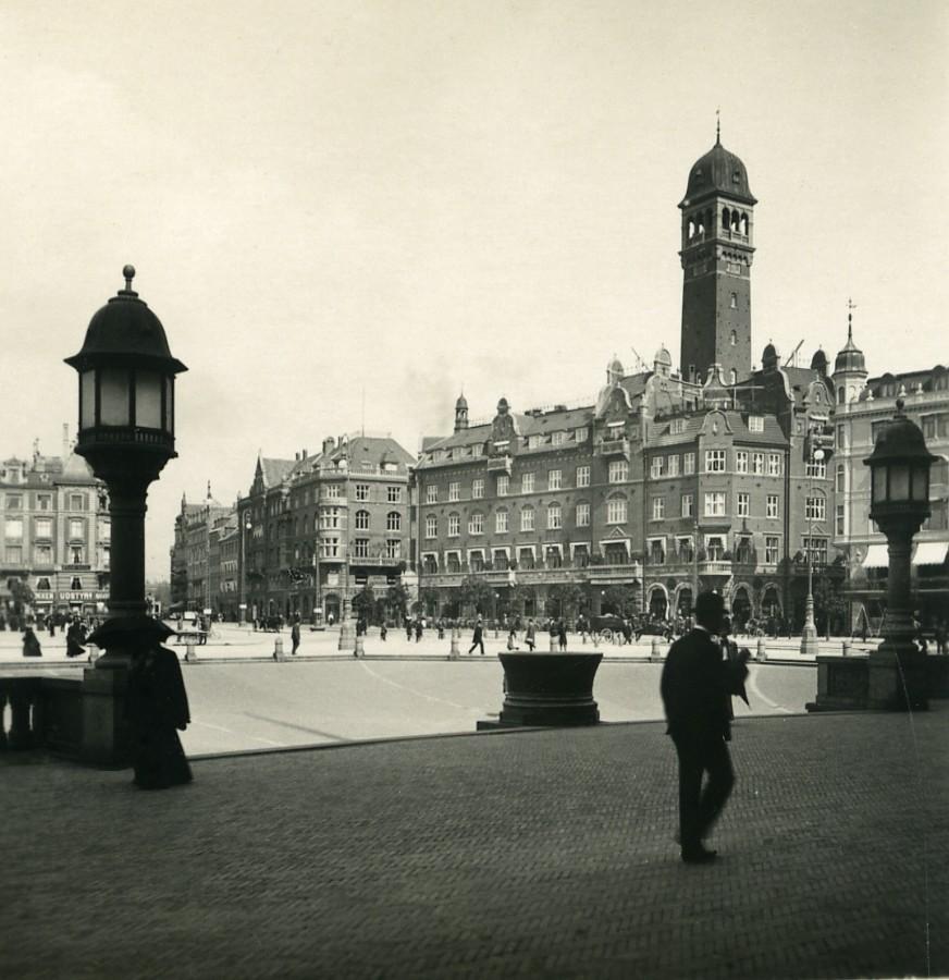Denmark_Copenhagen_Raadhuspladsen_City_Hall_Square_Old_NPG_Stereo_Photo_1900_NPG_Neue_Photographische_gesellschaft__