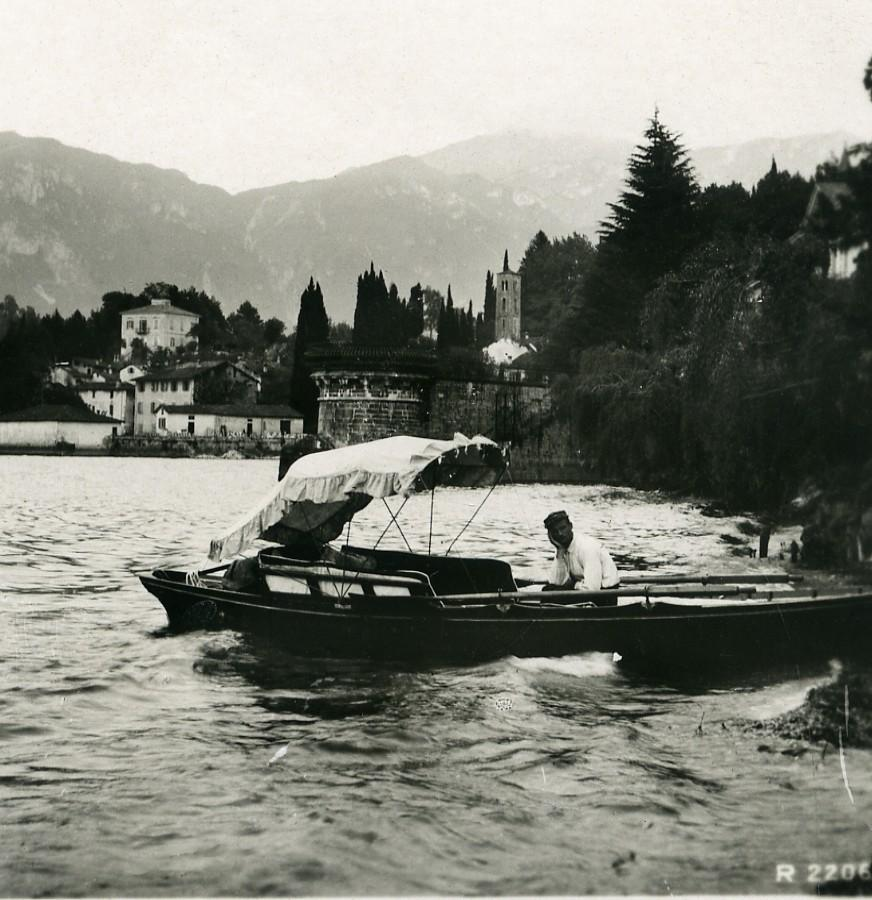 Italy_Lake_Como_San_Giovanni_Boat_Old_Stereoview_Photo_1906_ANONYMOUS__