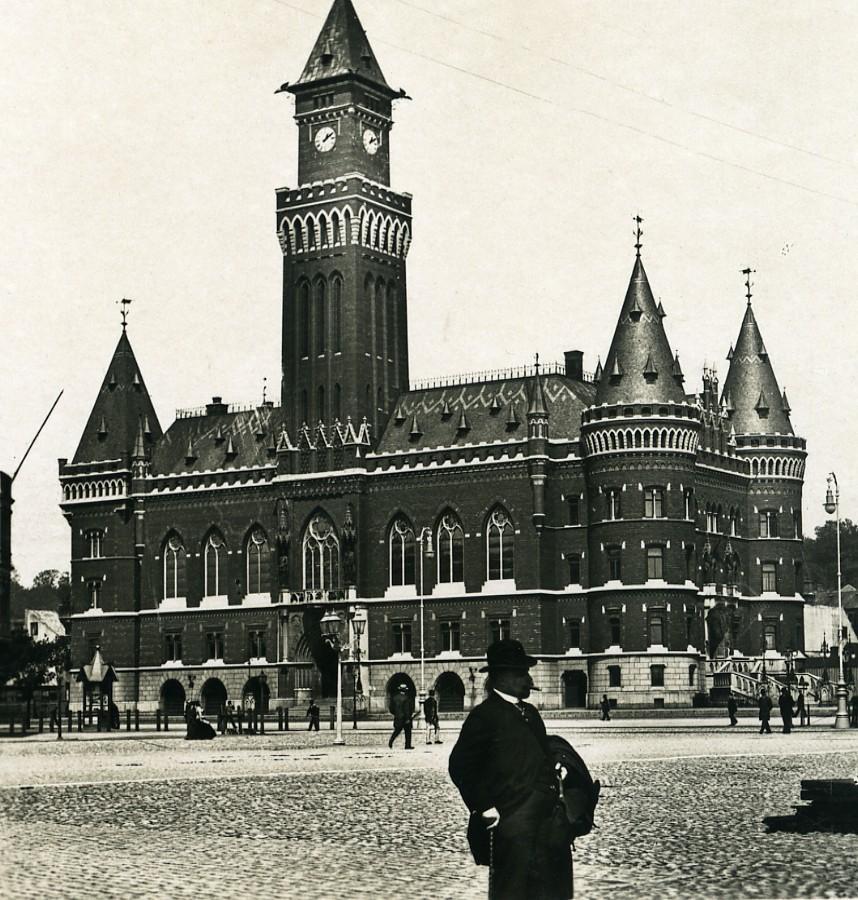 Sweden_Helsingborg_City_Hall_Old_NPG_Stereo_Photo_1900_NPG_Neue_Photographische_gesellschaft__