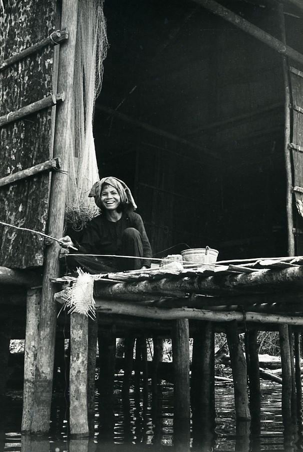 Cambodia_Sinoun_the_Little_Cambodian_Fishing_old_Photo_Odile_Wertheimer_1968_Odile_WERTHEIMER__