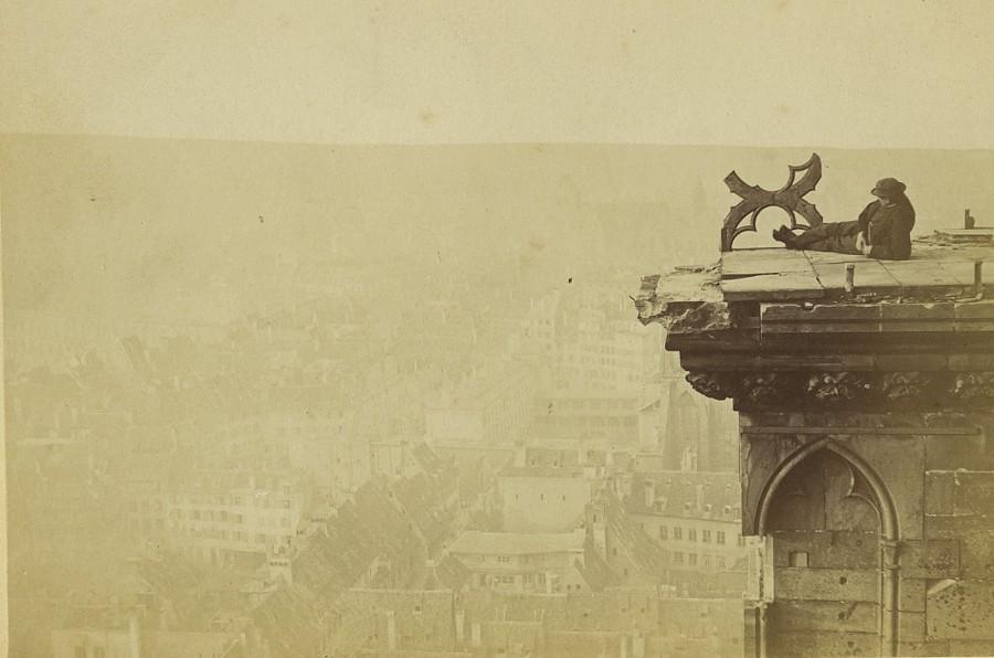 Strasbourg_Wartime_cathedral_Platform_Old_Cabinet_Card_Photo_Baudelaire_1870_BAUDELAIRE__