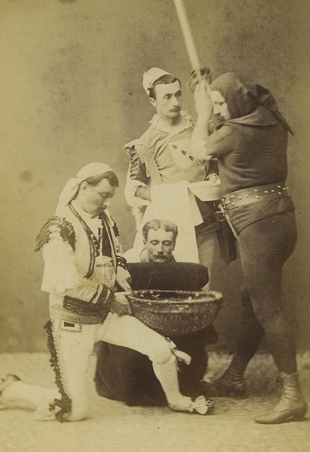 France_Actors_Theater_scenery_Death_Sentence_Executioner_Old_Cabinet_Photo_1870_ANONYMOUS__