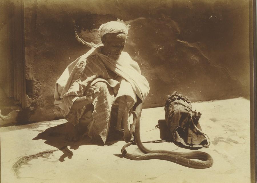 Morocco_Marrakech_Snake_Charmer_Serpent_Old_Photo_Felix_1915_FELIX__