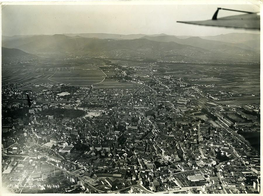 France_Panorama_Colmar_Gangloff_Hegly_Old_Aerial_Military_Photo_1933____