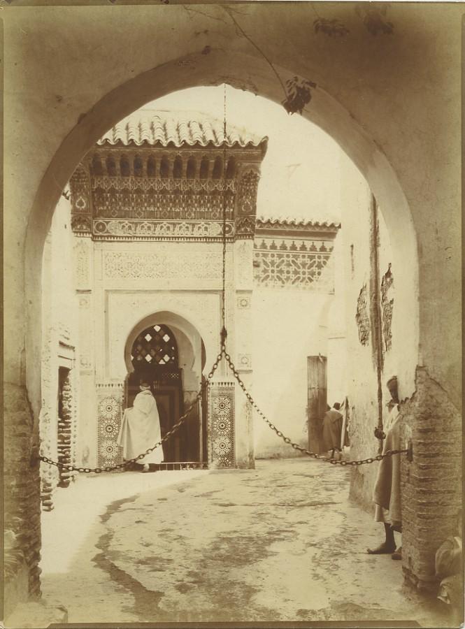 Morocco_Marrakech_Moroccan_House_Archway_Old_Photo_Felix_1915_FELIX__