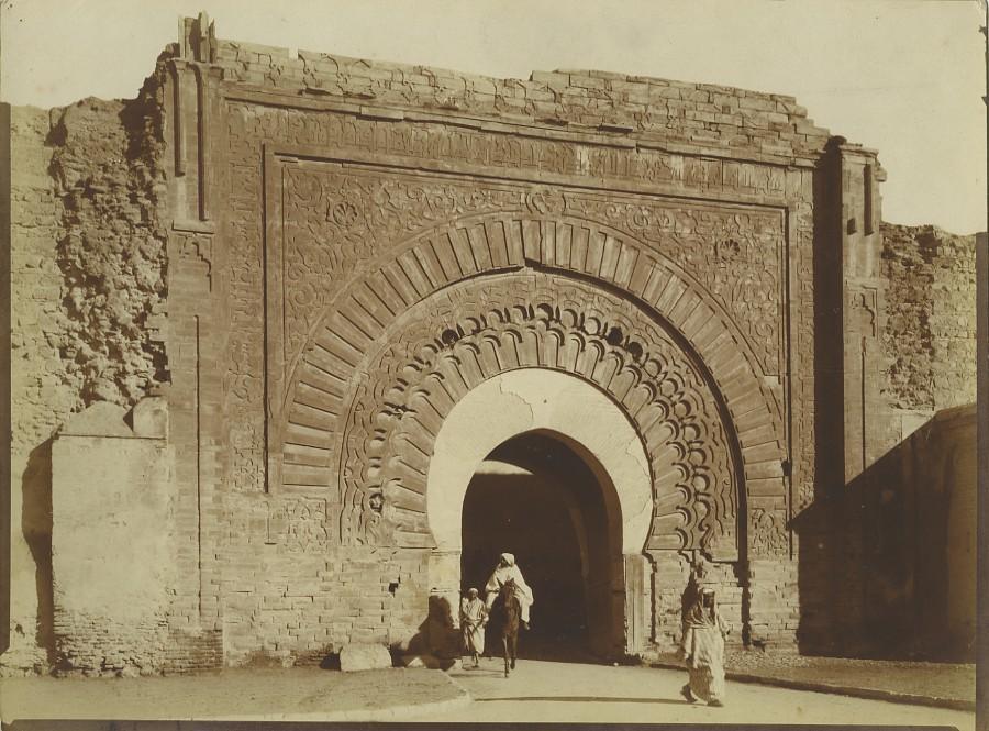 Morocco_Marrakech_Bab_Agnaou_Gate_Old_Photo_Felix_1915_FELIX__
