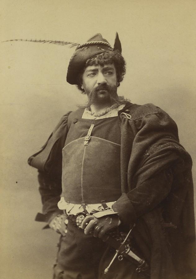 France_Paris_Stage_actor_Febvre_Theatre_Francais_old_photo_cabinet_Nadar_1880_NADAR__