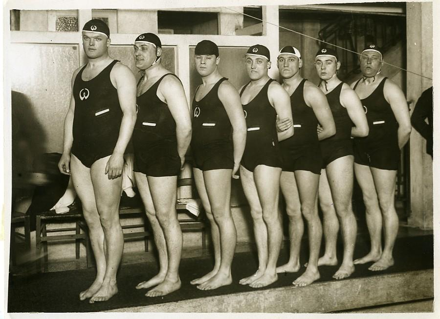 Sports_Paris_Hanover_Water_Polo_Mens_Team_Old_Photo_1930_NEWS_SERVICE_Misc__