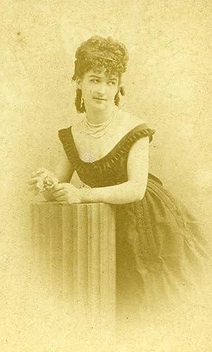 France Paris Theater Actress Miss Leduc old: DISDERI