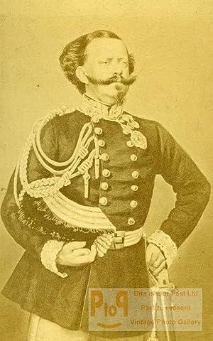 France Paris King of Italy Victor Emmanuel: DISDERI