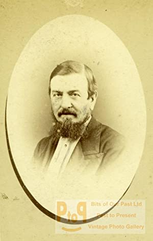 London Portrait Bearded Man Victorian Era Old: DISDERI