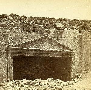 Israel Palestine Jerusalem Tombs of the Judges: Felix BONFILS