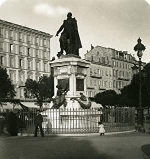 France Nice Statue of Marshal Massena Old: NPG (Neue Photographische