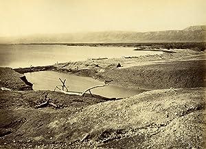 Palestine Dead Sea Mer Morte Panorama old: Felix BONFILS