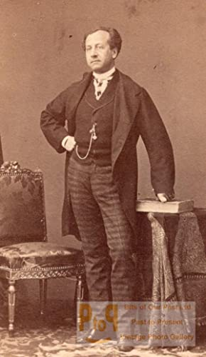 Brepand Early Opera old CDV Photo 1860': DISDERI