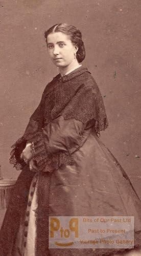 Lafontaine actress Comedie Française old CDV Photo: DISDERI