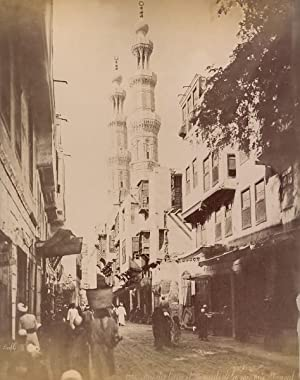 Animated Street & Mosque Cairo Bonfils 2: Felix BONFILS