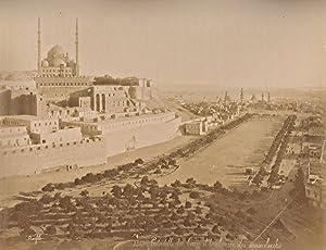 Citadel & Mosque Foutain Cairo Bonfils 2: Felix BONFILS