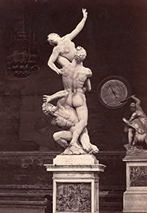 Firenze Giambologna Statue Barometer Italy Photo 1880: ANONYMOUS