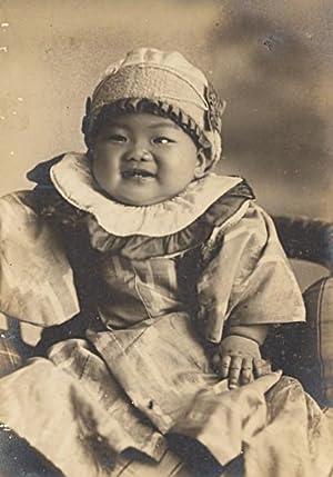 Young Baby Japan Fashion Old Photo Shimizu