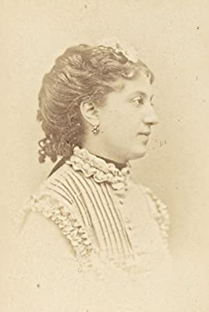 Mlle Fromentin French Actress Second Empire Old: DISDERI