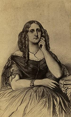 Writer & Journalist Delphine de GIrardin France: DISDERI