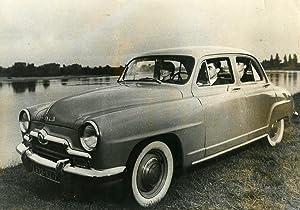 France Automobile Car Simca Aronde Old Photo: NEWS SERVICE (Misc)