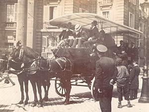 France Paris Horse Drawn Carriage Public Transport: ANONYMOUS