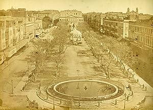 Egypt Alexandria Consuls Square & Cairo Mosque: Felix BONFILS