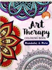 MANDALAS AND MORE: Art Therapy Colouring Book: POOJA DESAI &